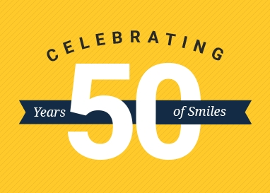 50 years of smiles